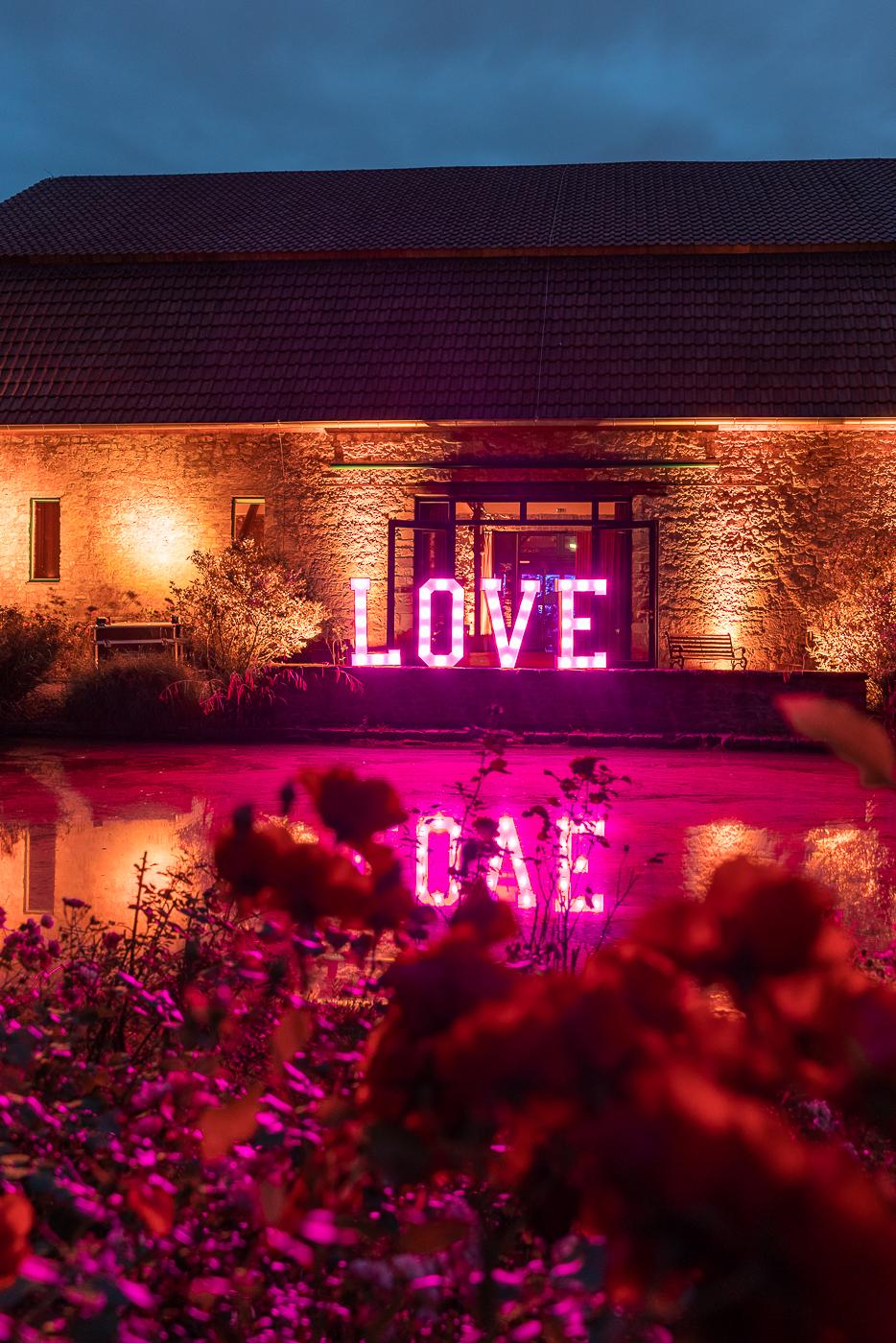 XXl LOVE Buchstaben Hannover