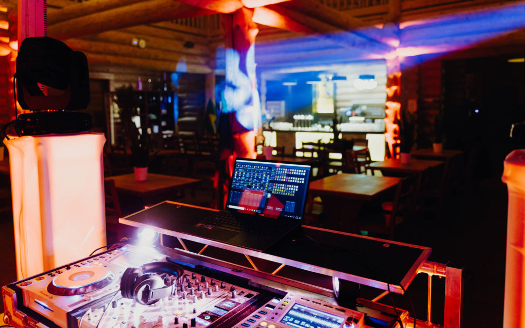 Rodizio Blockhaus Blick vom DJ-Pult